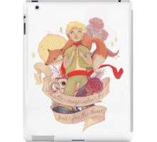 Water May Also Be Good For the Heart iPad Case/Skin