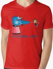 Extermi-not Powerpuff Tenth Doctor Mens V-Neck T-Shirt