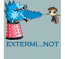 Extermi-not Powerpuff Tenth Doctor Photographic Print