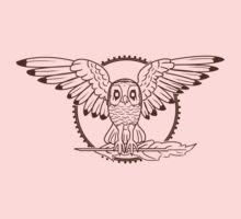 Mystical Owl One Piece - Long Sleeve