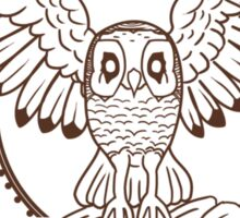 Mystical Owl Sticker