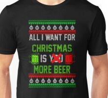More Beer Christmas Unisex T-Shirt