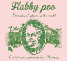 Flabby poo green Kids Tee