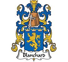 Blanchard Coat of Arms (French) Photographic Print