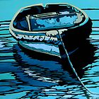 Lucy, (Rowing Boat)  by Moira Ladd