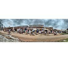 Uganda: We Call Them Strip Malls Photographic Print