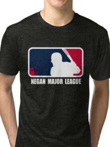 Negan Major League Tri-blend T-Shirt
