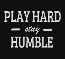 Play Hard stay Humble Kids Tee