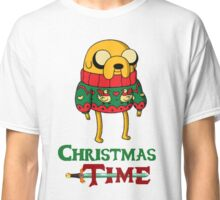 Christmas Jake - Adventure Time Classic T-Shirt
