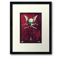 The Supernatural Pirate Framed Print