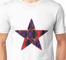 Flaming Star Unisex T-Shirt