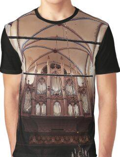 church, organ Graphic T-Shirt