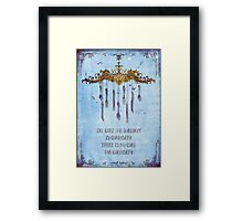 The curiosa Framed Print