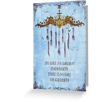 The curiosa Greeting Card