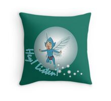Hey Listen Throw Pillow