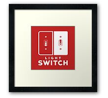 The Switch (Variant) Framed Print