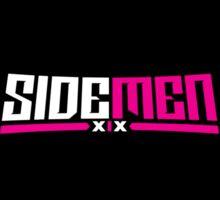 Pink & Black Sidemen Logo Sticker