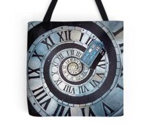 Through time and space... Tote Bag