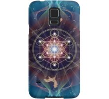 Metatron's Cube - Merkabah - Peace and Balance Samsung Galaxy Case/Skin