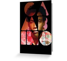 Gambino Greeting Card