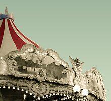 Vintage carousel ride by Aikaterini  Koutsi Marouda
