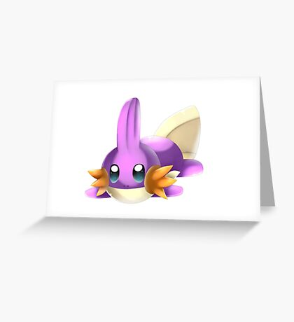 Shiny Mudkip Greeting Card