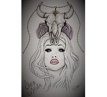 Sharon Needles Drawing Photographic Print