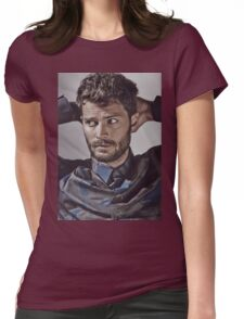 Handsome Jamie Dornan a Womens Fitted T-Shirt