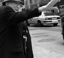 New York Street Photography 27 Sticker