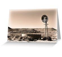 Dust 'n Wind Greeting Card