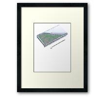DS Earth Framed Print