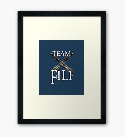Team Fili Framed Print