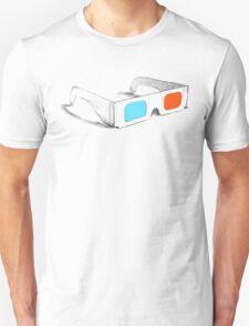 Retro 3D Glasses Unisex T-Shirt