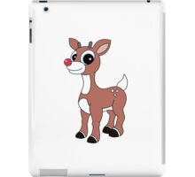 Rudolph the red nose iPad Case/Skin