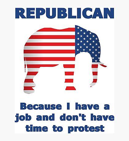 Funny Republican Photographic Print