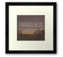 Adams song blink-182 Framed Print