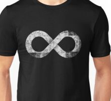 Infinity Sign Simple Old Print Unisex T-Shirt