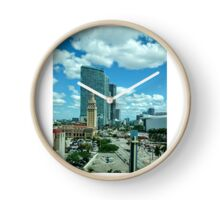 The Cuban Freedom Tower in Miami Clock