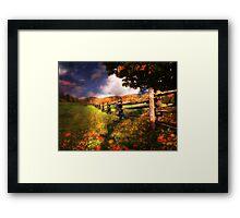 Autumn Awakening Framed Print