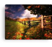 Autumn Awakening Canvas Print