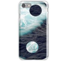 Ocean yin yang  iPhone Case/Skin