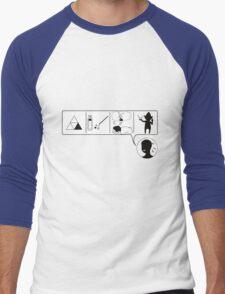 CMDR Men's Baseball ¾ T-Shirt