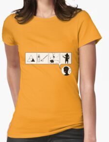 CMDR Womens Fitted T-Shirt