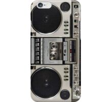 Vintage 80s Boombox Ghettoblaster iPhone Case/Skin
