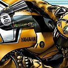 Rossi Yamaha 60th Anniversary by quigonjim