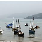 Sea Mist over St Ives Harbour by mrcoradour