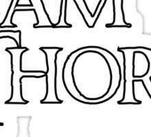 Team Thorin Sticker