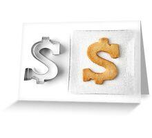 Making Money Greeting Card