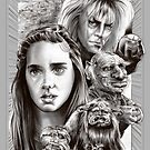 Labyrinth Fan Art by quigonjim