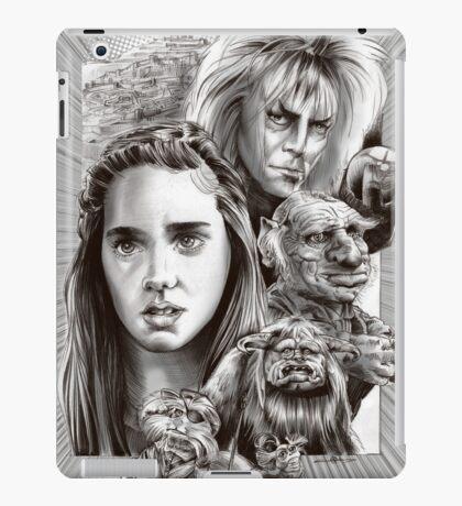 Labyrinth Fan Art iPad Case/Skin